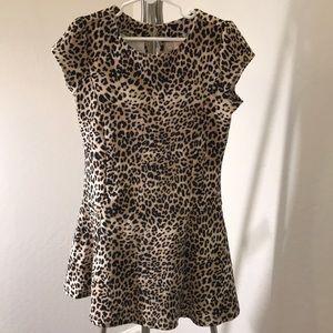 Gymboree Girl's Knit Dress W/Button Back Closure